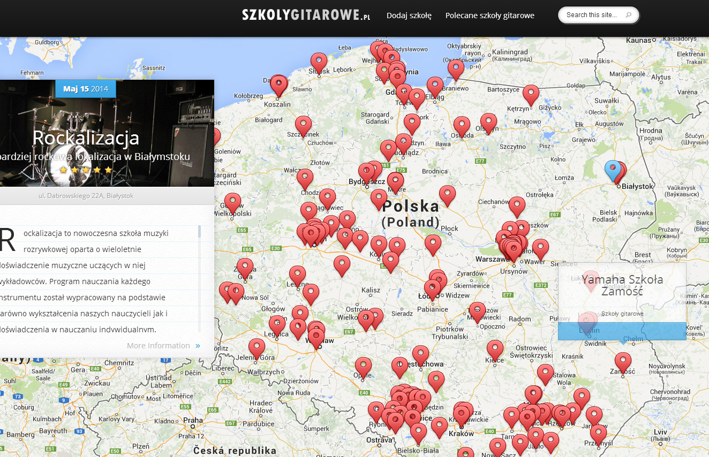 Wszystkie szkoły gitarowe w jednym miejscu – SzkolyGitarowe.pl