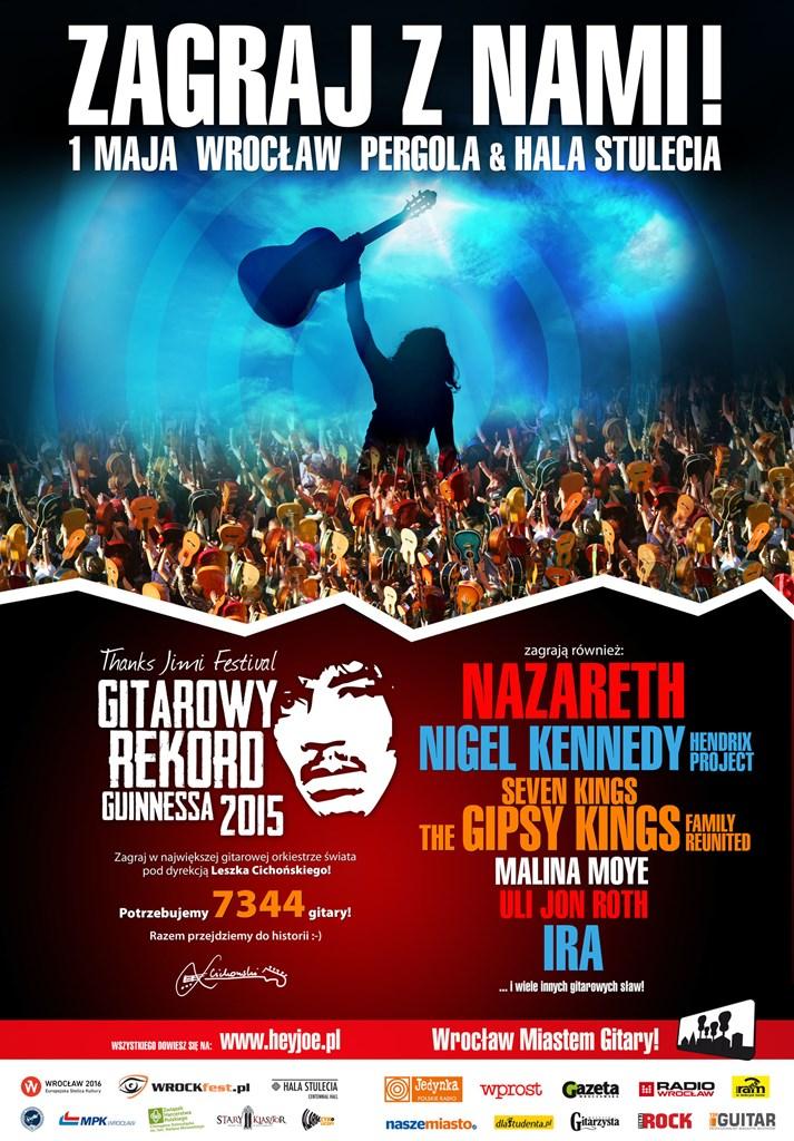 GITAROWY REKORD GUINNESSA 2015