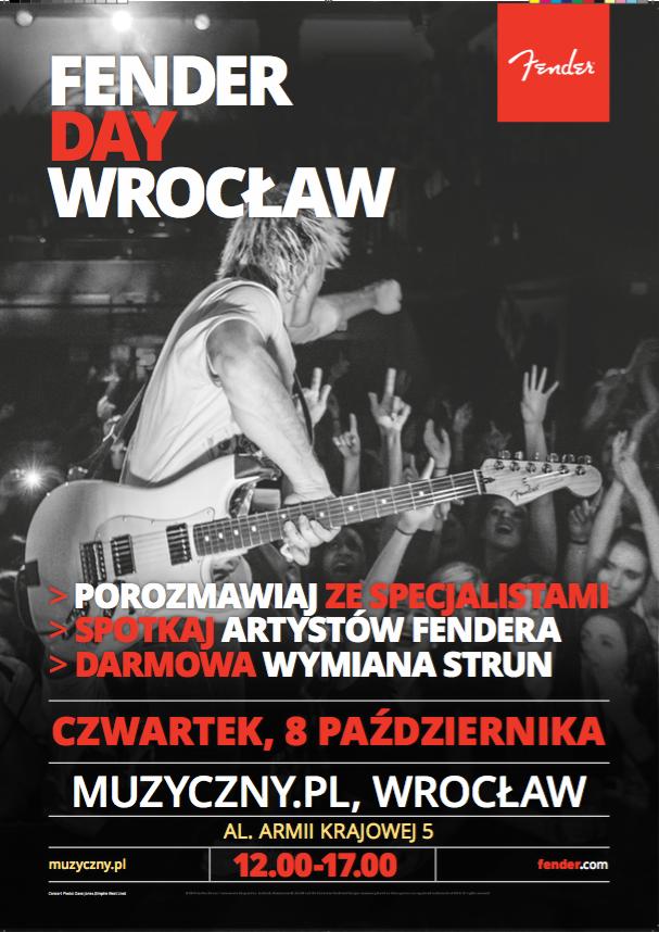 Dni Fendera we Wrocławiu (FENDER DAY WROCŁAW)