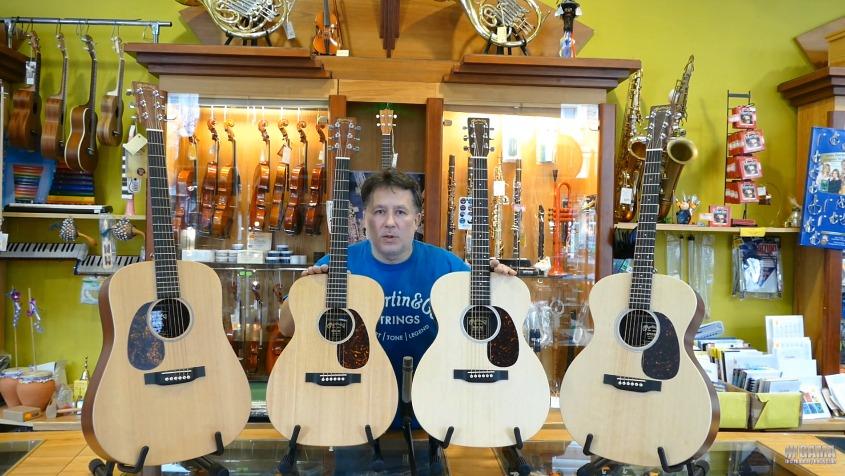 Czym różnią się rozmiary gitar akustycznych?